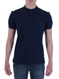 NAVY & GREEN NAVY&GREEN POLO ΠΙΚΕ ΜΑΟ ΓΙΑΚΑ YOUNG LINE STRETCH ΜΠΛΕ