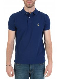 RALPH LAUREN RALPH LAUREN POLO CUSTOM SLIM FIT  ΜΠΛΕ