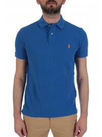 RALPH LAUREN RALPH LAUREN POLO CUSTOM SLIM FIT  ΡΟΥΑ ΜΠΛΕ