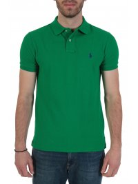 RALPH LAUREN RALPH LAUREN POLO CUSTOM SLIM FIT  ΠΡΑΣΙΝΟ