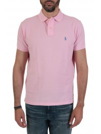 RALPH LAUREN RALPH LAUREN POLO CUSTOM SLIM FIT  ΡΟΖ