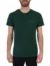 SUPERDRY SUPERDRY T-SHIRT PREMIUM GOODS TONAL INJECTION ΠΡΑΣΙΝΟ