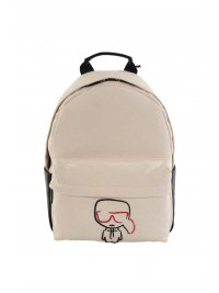 KARL LAGERFELD KARL LAGERFELD BACK PACK IKONIK CANVAS ΜΠΕΖ