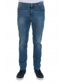 TRUSSARDI JEANS TRUSSARDI JEANS ΠΑΝΤΕΛΟΝΙ JEANS 370 CLOSE CROSS CAROLINE DENIM ΜΠΛΕ