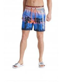 SUPERDRY SUPERDRY ΜΑΓΙΩ STATE VOLLEY SWIM SHORT ΣΙΕΛ