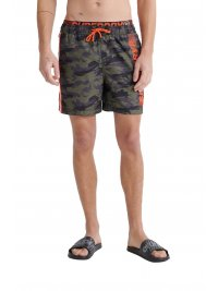 SUPERDRY SUPERDRY ΜΑΓΙΩ STATE VOLLEY SWIM SHORT ΧΑΚΙ