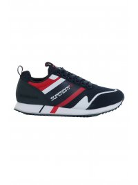 SUPERDRY SUPERDRY ΠΑΠΟΥΤΣΙ SNEAKERS FERO RUNNER CORE ΜΠΛΕ