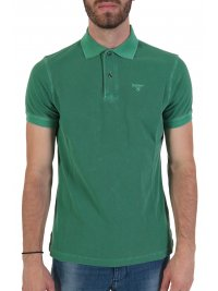BARBOUR BARBOUR POLO WASHED ΠΡΑΣΙΝΟ