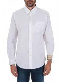 BARBOUR BARBOUR ΠΟΥΚΑΜΙΣΟ  BUTTON DOWN TAILORED FIT HEADSAW ΛΕΥΚΟ
