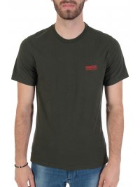 BARBOUR BARBOUR INTERNATIONAL T-SHIRT  SLIM FIT SMALL LOGO ΧΑΚΙ
