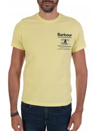 BARBOUR BARBOUR  T-SHIRT TAILORED FIT  CHANONRY ΚΙΤΡΙΝΟ