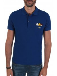 LACOSTE LACOSTE POLO UNISEX FRIENDS WITH YOU ΘΥΡΑΙΟΣ ΜΠΛΕ