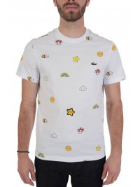LACOSTE LACOSTE T-SHIRT UNISEX FRIENDS WITH YOU ΛΕΥΚΟ
