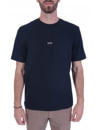 BOSS CASUAL BOSS CASUAL T-SHIRT  TCHUP ΜΠΛΕ