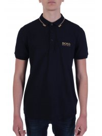 BOSS  BOSS POLO PADDY PRO REGULAR FIT BLUE GOLD CAPSULE ΜΠΛΕ