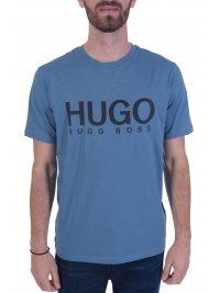 HUGO HUGO T-SHIRT DOLIVE204 ΣΙΕΛ