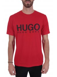 HUGO HUGO T-SHIRT DOLIVE204 ΚΟΚΚΙΝΟ