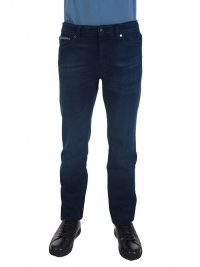 BOSS  BOSS ΠΑΝΤΕΛΟΝΙ JEANS MAINE REGULAR FIT EXTRA STRETCH FIT ΜΠΛΕ
