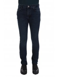 NAVY & GREEN NAVY & GREEN ΠΑΝΤΕΛΟΝΙ JEANS STRETCH LOW WAIST ΜΠΛΕ
