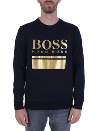 BOSS  BOSS ATHLEISURE ΦΟΥΤΕΡ SALBO 1 BLUE GOLD CAPSULE ΜΠΛΕ