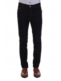 TRUSSARDI JEANS TRUSSARDI JEANS ΠΑΝΤΕΛΟΝΙ  JEANS 380 ICON T WILL DARK NIGHT SKY ΜΠΛΕ