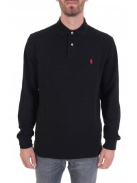 RALPH LAUREN RALPH LAUREN POLO CUSTOM SLIM FIT  ΜΑΥΡΟ