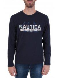 NAUTICA NAUTICA T-SHIRT SAILING SERIES ΜΠΛΕ