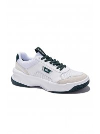 LACOSTE LACOSTE ΠΑΠΟΥΤΣΙΑ SNEAKERS ACE LIFT  LOGO ΠΡΑΣΙΝΟ-ΛΕΥΚΟ