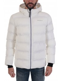 SUPERDRY SUPERDRY ΜΠΟΥΦΑΝ JACKET TRAINING HEAVY PADDED ΛΕΥΚΟ
