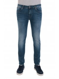 SELECTED SELECTED ΠΑΝΤΕΛΟΝΙ JEANS SLIM FIT LEON NOOS ΜΠΛΕ