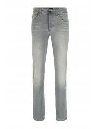 BOSS  BOSS ΠΑΝΤΕΛΟΝΙ JEANS TABER BP-P TAPERED FIT ΓΚΡΙ