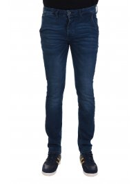 U.S. POLO ASSN US POLO ASSN ΠΑΝΤΕΛΟΝΙ JEANS CHINO SLIM FIT ΜΠΛΕ