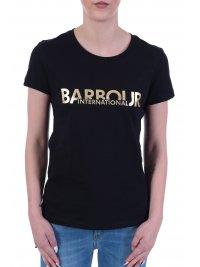 BARBOUR BARBOUR INTERNATIONAL T-SHIRT DELTA ΜΑΥΡΟ