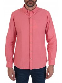 BARBOUR BARBOUR ΠΟΥΚΑΜΙΣΟ OXFORD TAILORED FIT BUTTON DOWN ΡΟΖ