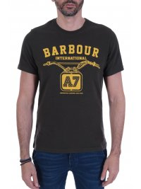 BARBOUR BARBOUR INTERNATIONAL T-SHIRT LOGO LEGENDARY ΛΑΔΙ