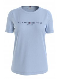 TOMMY HILFIGER TOMMY HILFIGER T-SHIRT NEW THE SS HILFINGER C-NECK TEE ΓΑΛΑΖΙΟ