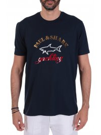 PAUL&SHARK PAUL&SHARK T-SHIRT BIG LOGO ΜΠΛΕ