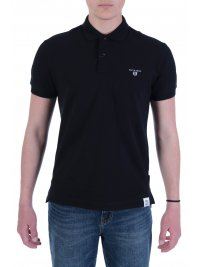 NAVY & GREEN NAVY&GREEN POLO ΠΙΚΕ YOUNG LINE TWO PLY ΜΑΥΡΟ