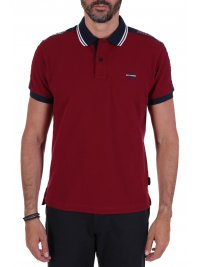 NAVY & GREEN NAVY&GREEN POLO ΠΙΚΕ YOUNG LINE TWO PLY ΚΟΚΚΙΝΟ
