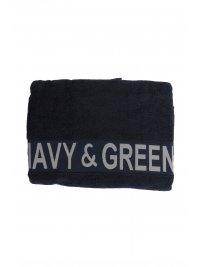 NAVY & GREEN NAVY&GREEN ΠΕΤΣΕΤΑ ΠΑΡΑΛΙΑΣ ΜΕ ΛΟΓΟΤΥΠΟ ΜΠΛΕ