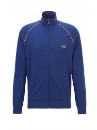 BOSS  BOSS BODYWEAR ΦΟΥΤΕΡ FULLZIP MIX&MATCH JACKET Z ΡΟΥΑ  ΜΠΛΕ