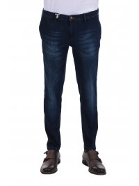 AT.P.CO AT.P.CO ΠΑΝΤΕΛΟΝΙ JEANS LOOK AND SUPERIOR KING ΑΠΟΣΠΩΜΕΝΟ ΜΑΝΤΗΛΙ ΜΠΛΕ
