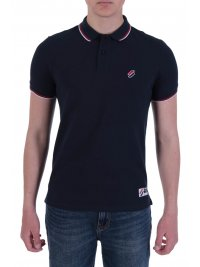 SUPERDRY SUPERDRY POLO PIQUE SPORTSTYLE TWIN TIPPED ΜΠΛΕ