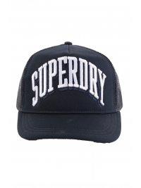 SUPERDRY SUPERDRY ΚΑΠΕΛΟ JOCKEY ΜΕ ΛΟΓΟΤΥΠΟ SPORT TRI LOGO TRUCKER CAP ΜΠΛΕ