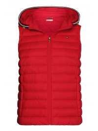 TOMMY HILFIGER TOMMY HILFIGER AMANIKO ΜΠΟΥΦΑΝ THESS LW DOWN VEST ΚΟΥΚΟΥΛΑ KOKKINO