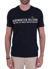 AERONAUTICA MILITARE AERONAUTICA MILITARE T-SHIRT LOGO AM-23 FORCE PROTECTION  ΜΠΛΕ