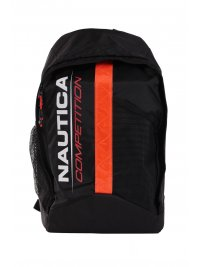 NAUTICA NAUTICA COMPETITION ΤΣΑΝΤΑ BACKPACK RAVEEN  ΜΑΥΡΟ