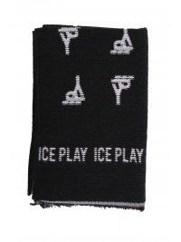ICE PLAY ICE PLAY ΚΑΣΚΩΛ LOGO ΜΑΥΡΟ